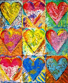 Budding Artists: Valentine's Day Hearts |Heart Art Projects