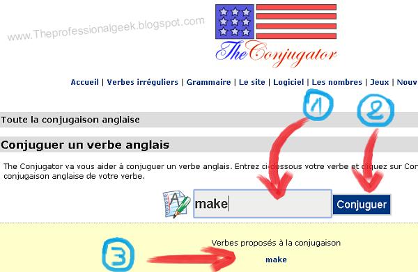 اون لاين تصريف الأفعال باللغة الإنجليزية والفرنسية والإسبانية والألمانية. موقع كيفية تعلم الصرف سهلة افضل طريقة لتعلم