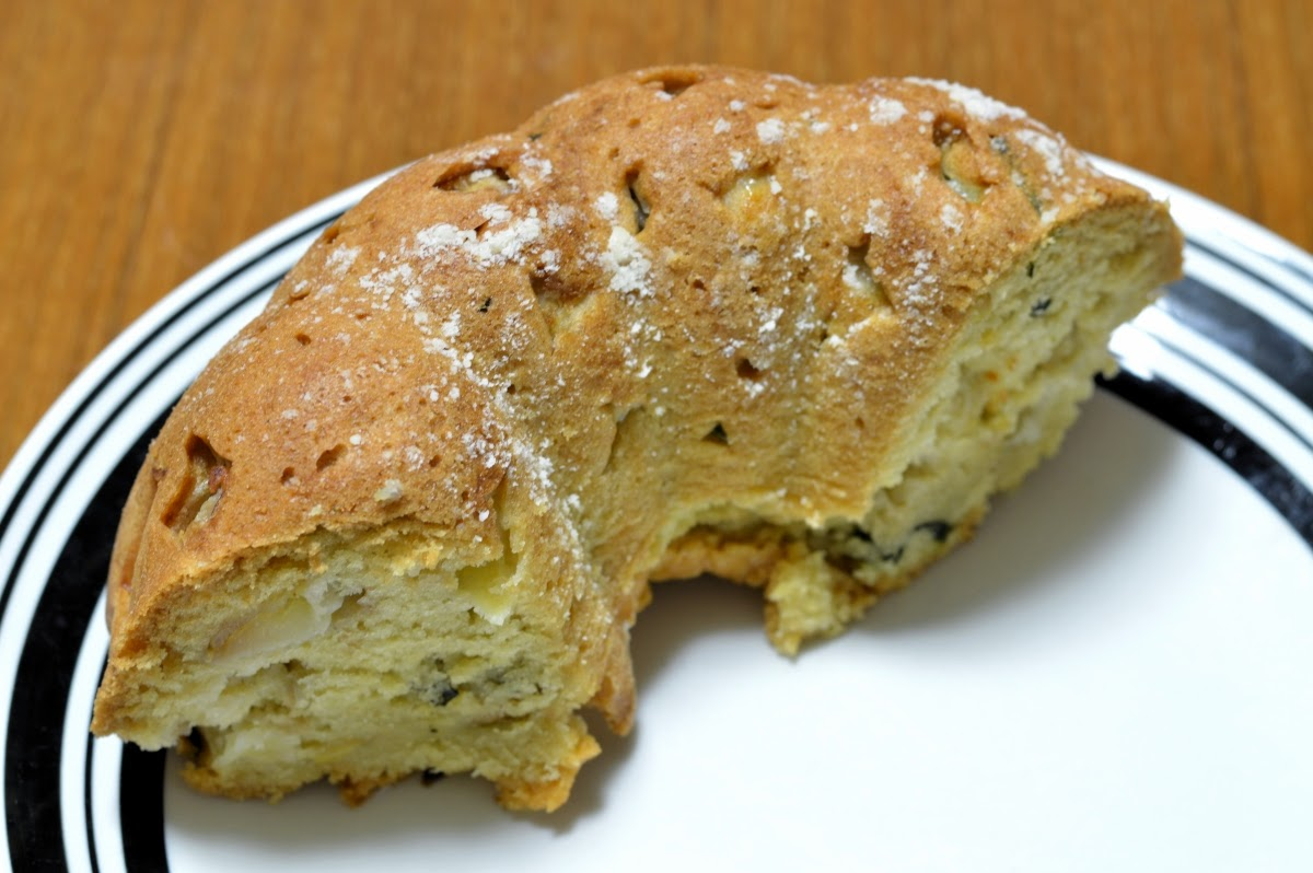 Featured Recipe | Apple Basil Cake from Dancing Veggies #secretrecipeclub