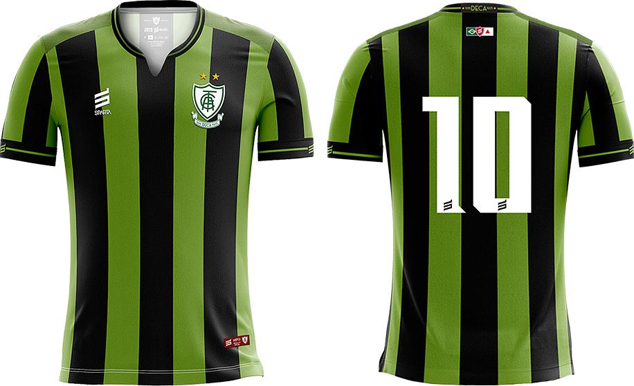 78ba9b6ce9 Sparta lança as novas camisas do América Mineiro - Show de Camisas