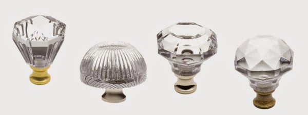 Unique Crystal Glass Cabinet Knobs