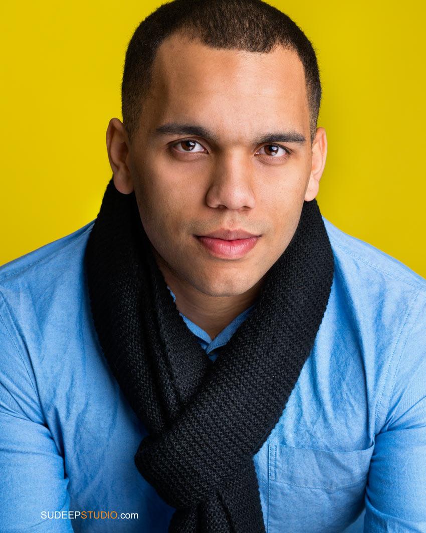 Toledo Actor Professional Headshots for Theater TV - Sudeep Studio.com