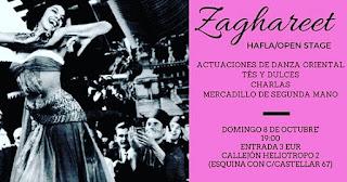 Fiesta de danza oriental en Sevilla, eventos danza del vientre