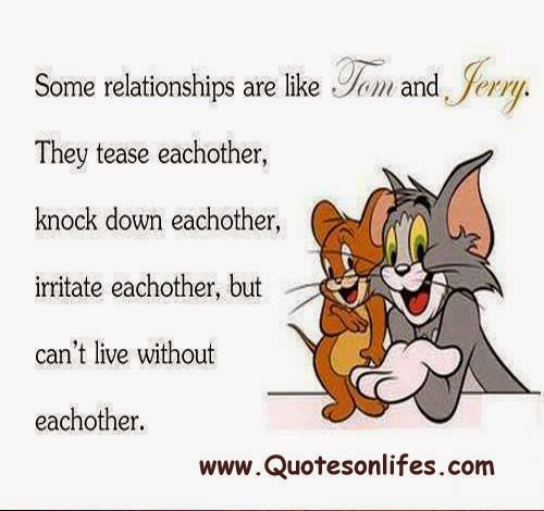 Royalty Free Tom And Jerry Quotes With Images