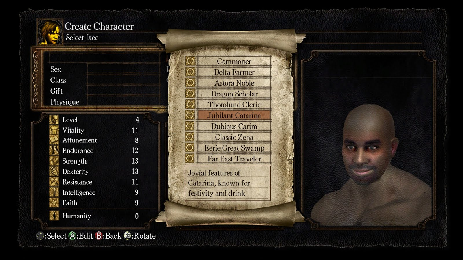 Character Creation: How does Dark Souls III Stack Up?