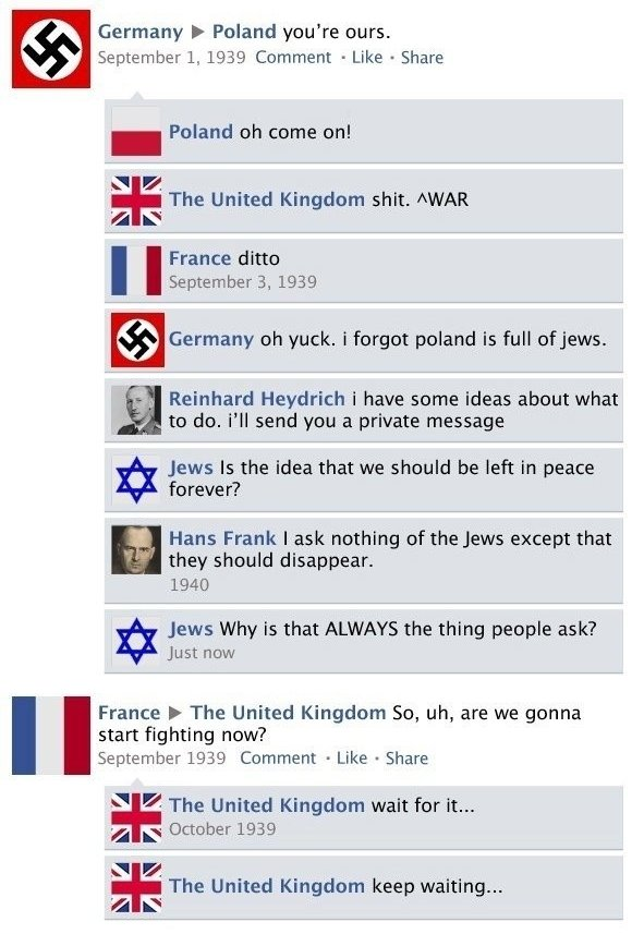 World War II Facebook 2