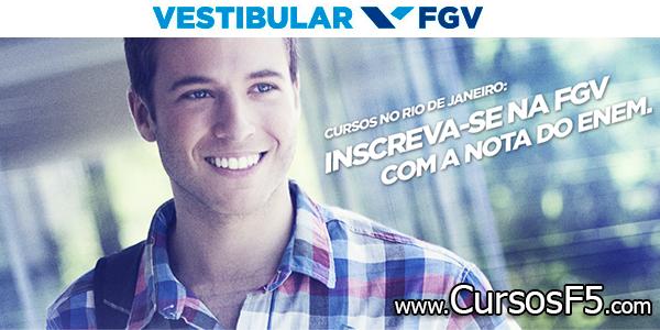 Inscreva-se na FGV com sua nota do ENEM (Fundação Getulio Vargas)