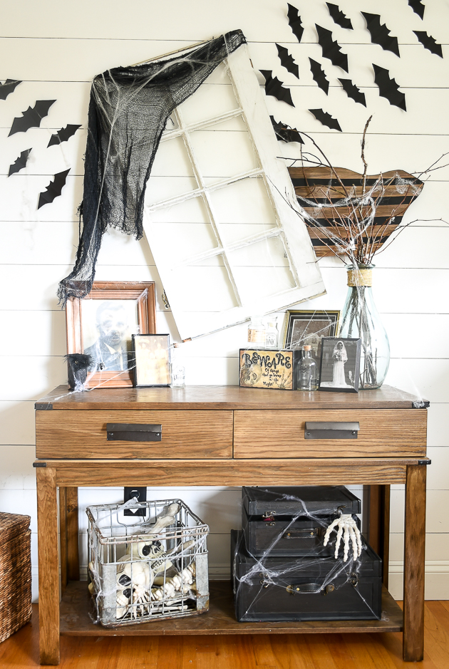 How to Decorate a Scary Halloween Home for Less | Little House of ...