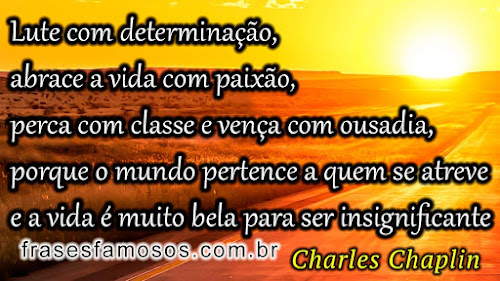 Charles Chaplin frases famosas