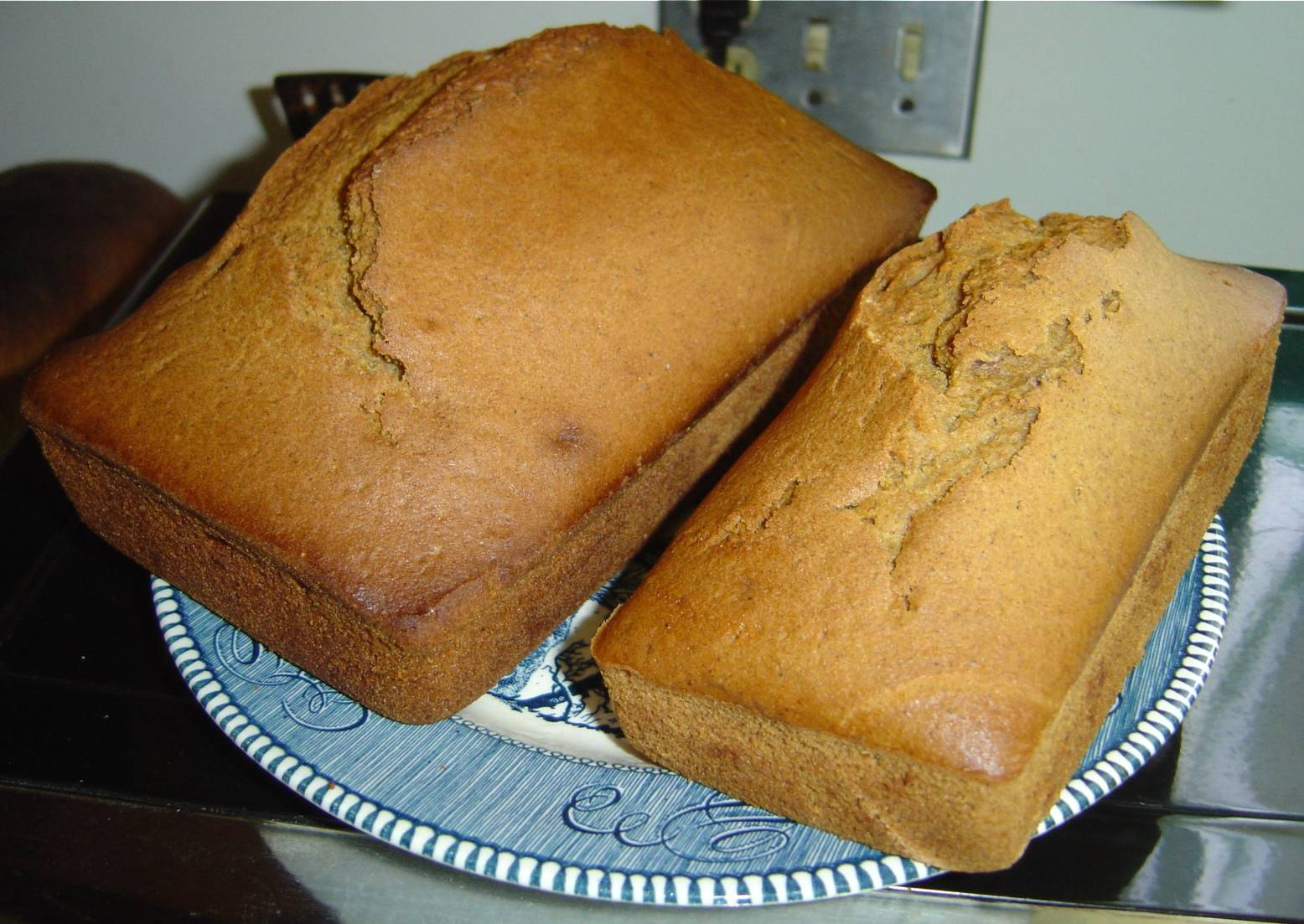 Pumpkin Bread Loaves