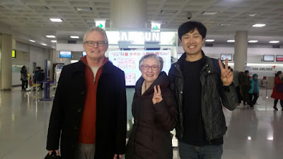 Our Guests With Handsome Guide Andy (KOREA E TOUR)