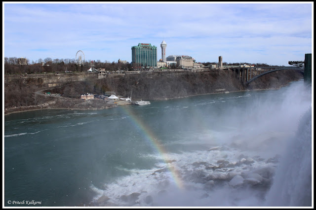 Rainbow at Niagara, Canada on other Side
