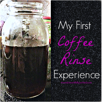 Coffee Rinse for Hair