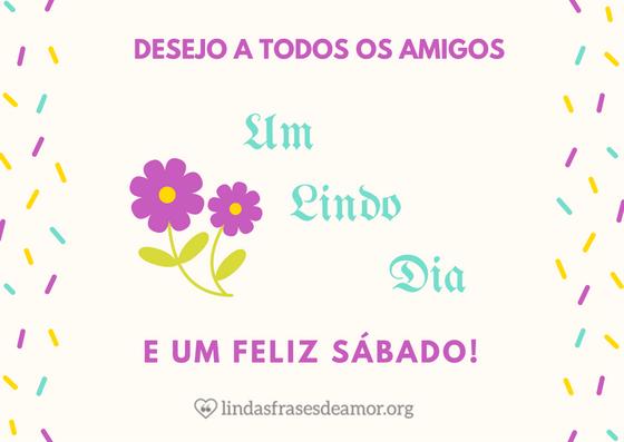 Blog Do Parceiro Frase E Mensagem De Bom Dia Deste Sábado