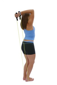 Triceps Extension using rope