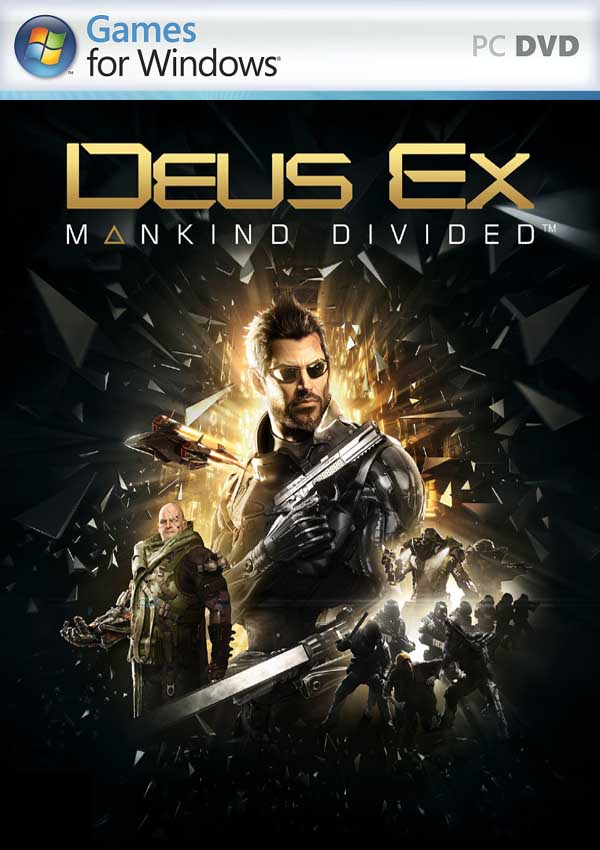 Deus Ex Mankind Divided Download Cover Free Game