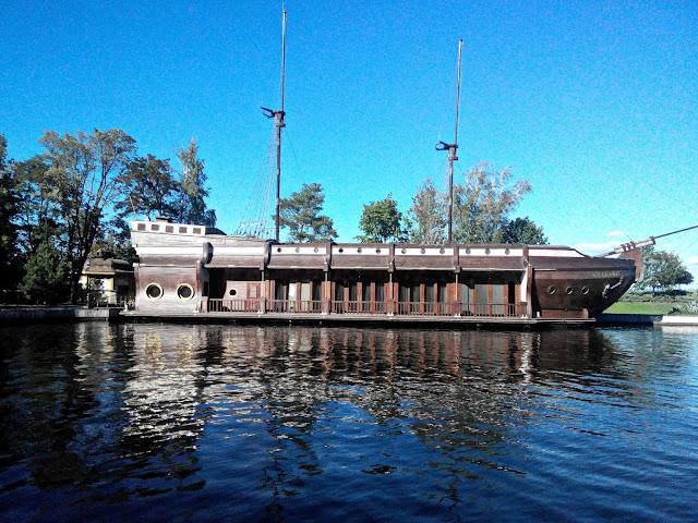 Межигорье корабль-ресторан