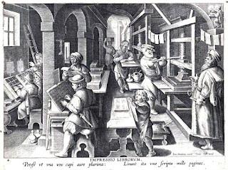 gutemberg, imprenta, copiar poemas, copiar libros, difundir, ruben sada, publicar un libro