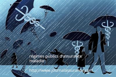 régimes publics d'assurance maladie