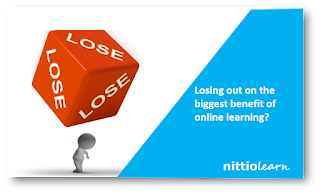 Losing out on the biggest benefit of online learning?