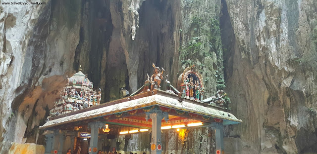 South Indian Dravidian style temple Batu Caves