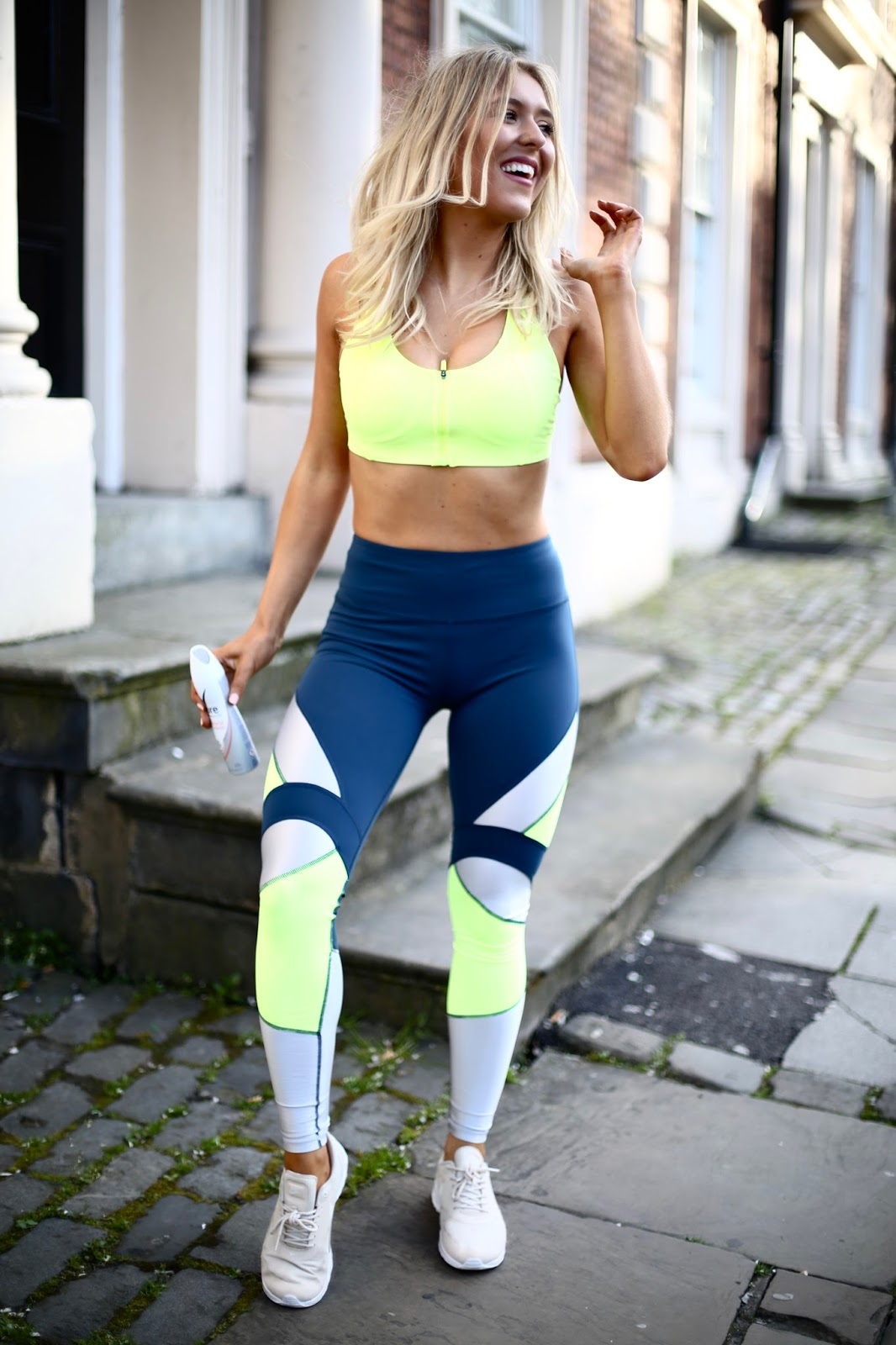 sweaty Betty neon power leggings