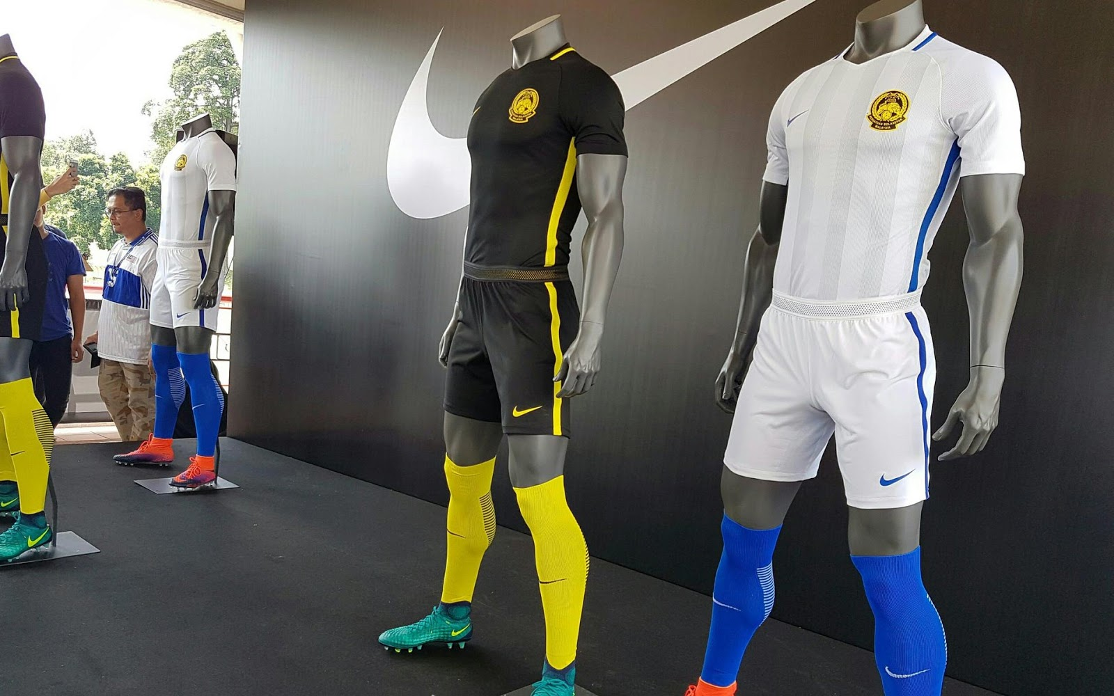 in line with nikes template the shorts and socks of the malaysia 2016 2018 kit are black and yellow respectively - Yellow Home 2016
