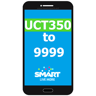 Smart UCT350 – Unli All Networks Texts and TRINET Call for 30 days