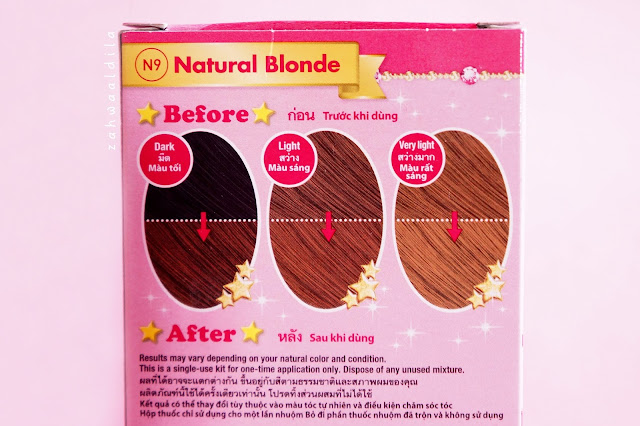 Beautylabo Hair Color N9 Natural Blonde