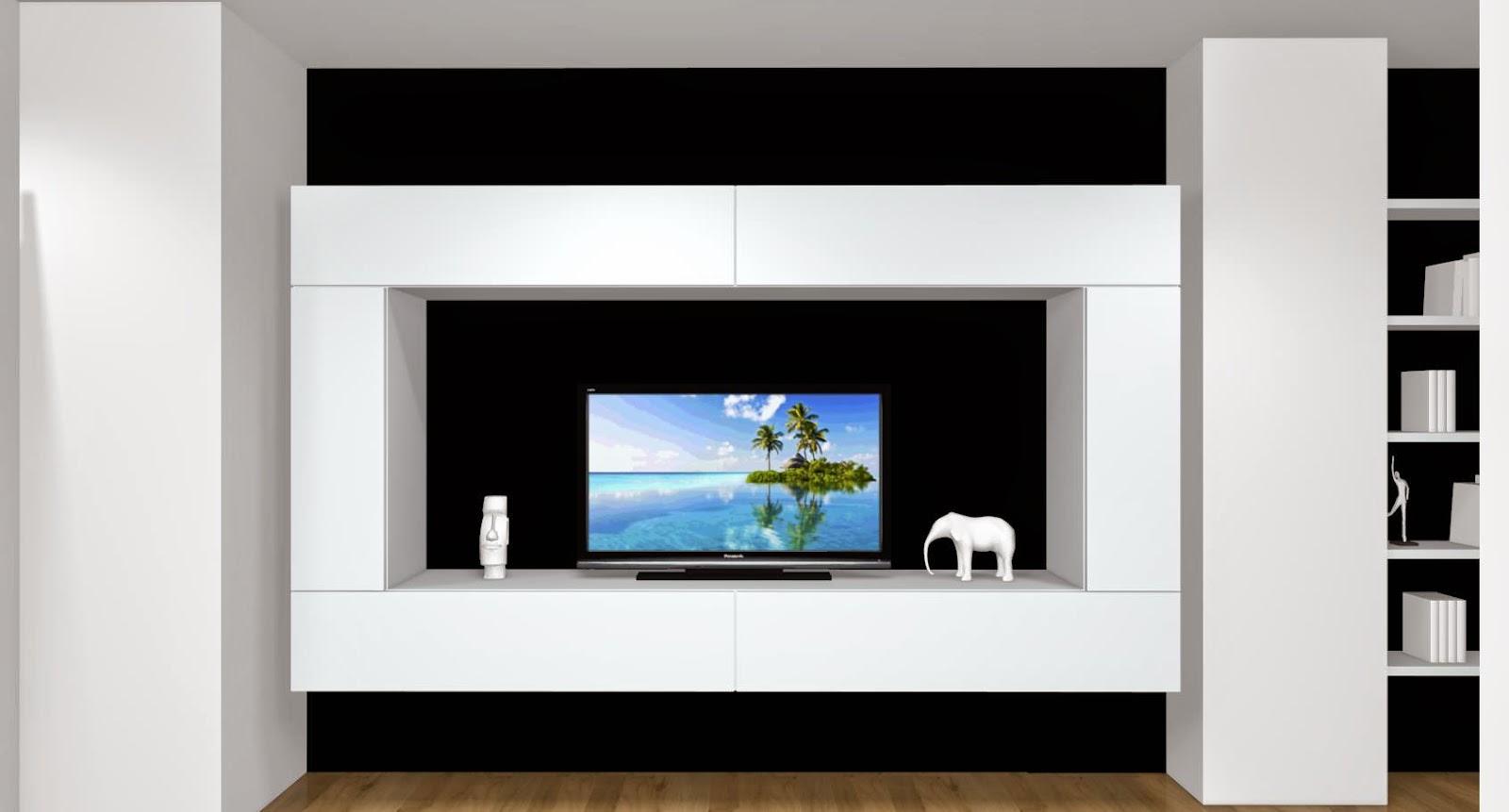 Muebles de sal n modernos colgados o suspendidos - Muebles para el salon ...