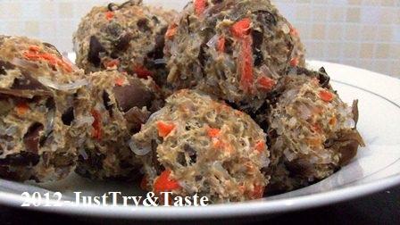 Resep Bakso Soun, Wortel dan Jamur Kuping