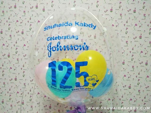 Hadiah Dari Johnson's Baby Sempena Ulangtahun ke 125