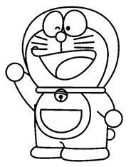 Mewarnai Gambar Tokoh Kartun Doraemon Kawan Blog Boneka