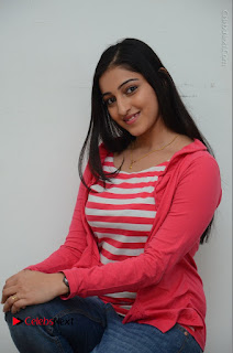 Telugu Actress Mouryani Latest Pos in Blue Denim Jeans  0105.JPG