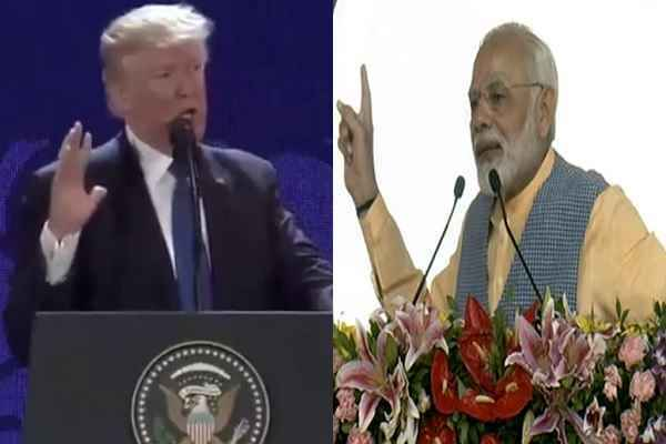 donald-trump-praised-pm-narendra-modi-for-strong-work-in-india
