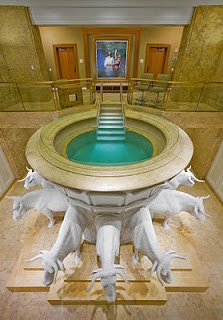 LDS Baptismal Font for the Dead