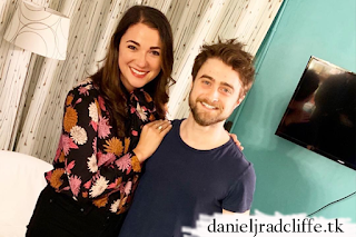 Stephanie Rothenberg visits Daniel Radcliffe at The Lifespan of a Fact