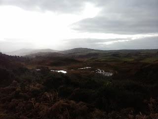 vresy a loch v Škótsku