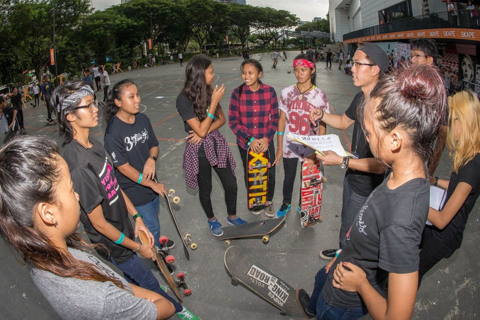 Highlights Go Skateboarding Day Singapore 2015 at SCAPE