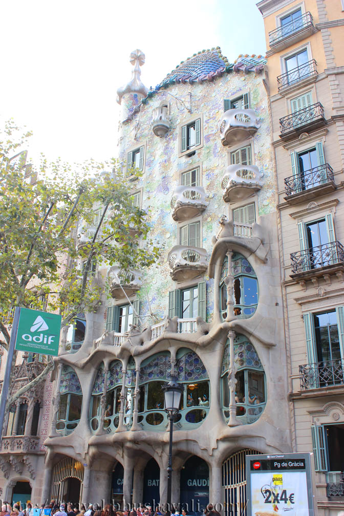 Beginning Here With Casa Batllo. This House Was Originally Built In 1877  But Completely Revamped And Given A Makeover In 1904 06 By Gaudi. The First  Thing ...