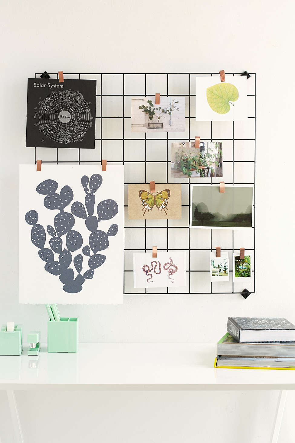wall grid organizer five friday finds metal wall and storage organizers 3311