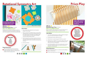 STEAM Kids book- rotational symmetry and prism play