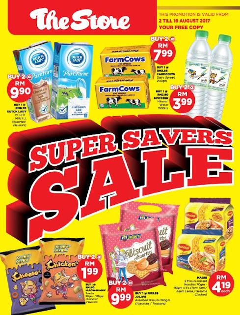The Store Malaysia Supermarket Super Savers Sale