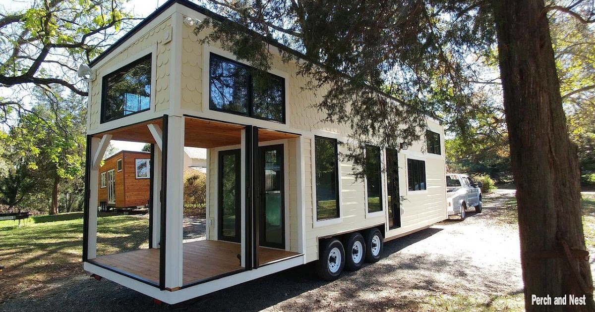 Tiny Home Designs: TINY HOUSE TOWN: The Burrow From Perch And Nest