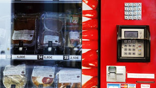 Beef Carpaccio and Duck Confit Available in Vending Machine in Paris