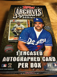 2016 Topps Archives Signature Series Baseball