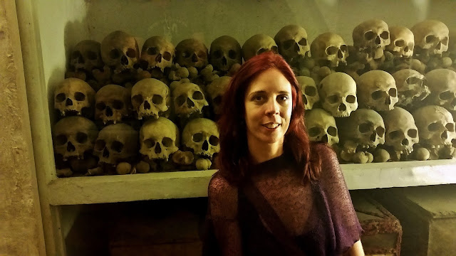 Lima, Peru, Melanie.Ps, The Purple Scarf, Travel, South America, Backpacking, Explore, Woman, Canadian, Catherdral, Plaza Mayor, catacombs, bones, skulls