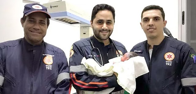 Grávida de Crixás da à luz dentro de ambulância na BR-153
