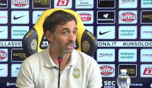 Conferenza stampa di Fabio Pecchia pre Roma Verona