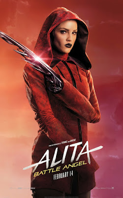Alita Battle Angel Rosa Salazar Movie Poster 14